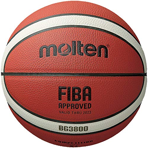 Best Buy! Molten BG3800 Series, Indoor/Outdoor Basketball, FIBA Approved, Size 7