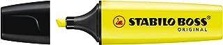 Marcador de Texto, Stabilo, BOSS 113.2002, Amarelo