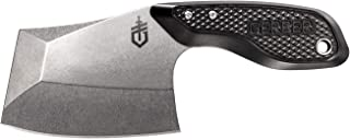 Gerber TRI-Tip, Mini Cleaver Fixed Blade Knife with Sheath, Black Handle [30-001693]