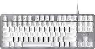 Razer RZ03-02640700-R3M1 BlackWidow Lite Mechanical Tenkeyless Keyboard, Mercury White