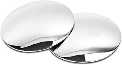 GotoShop Puzzle Sl Lenze 2inch 2pcs Circle Mirror Blind Spot Rear Side View Rearview for Car Truck Accessories 50.8mm 2