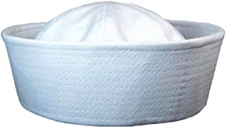 White Sailor Hats - Fits Kids and Average Adults