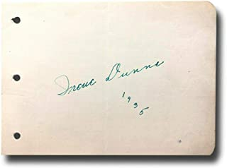 irene dunne autograph