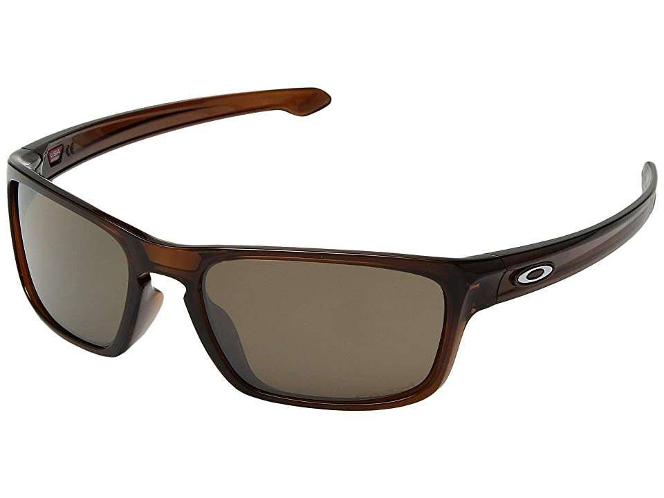 Oakley Sliver Stealth (Polished Rootbeer w/ Prizm Tungsten) Sport Sunglasses