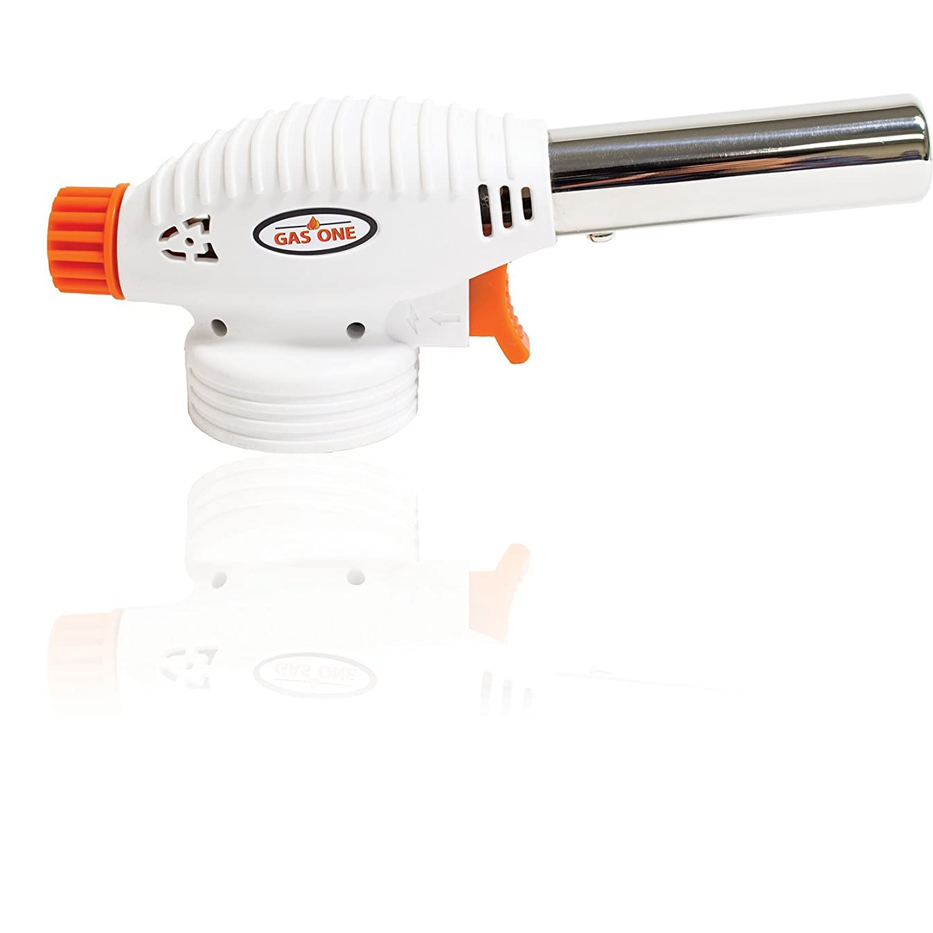 GasOne Cooking Torch Anti Flare Technology - Culinary Torch - Food Torch For Home Cooking & Professional use GT-099