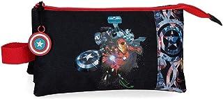 Marvel Los Vengadores Avengers Armour Up Estuche Triple Azul 22x12x5 cms Poliéster