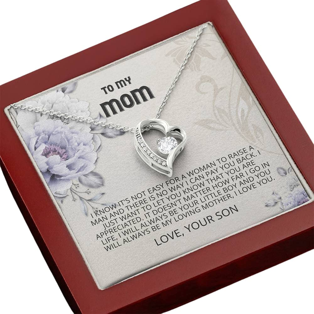 Tek Weh Mom - 正規品送料無料 You are Forever Appreciated Necklace Mothers 限定モデル Love