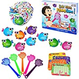 Catching The Word Fishes   Sight Word Game   Educational Reading & Writing Toy for Home School, Visual, Tactile and Auditory Learning, Basic Math, Shapes,Phonics Games, 240 Pieces, Ages 3+