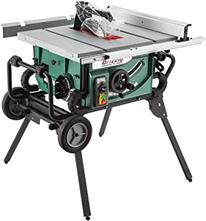 Grizzly G0870 1034; 2 HP Portable Table Saw with Roller Stand
