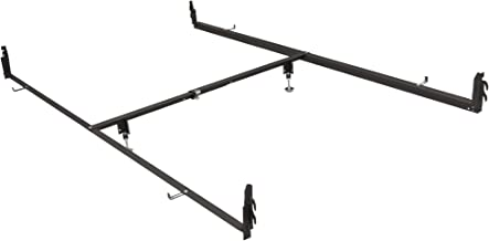 Best queen size metal sleigh bed frame Reviews