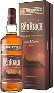 The BenRiach 30 Years Old AUTHENTICUS Peated Malt 46% Vol. 0,7 l  GB