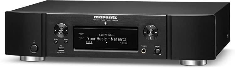 Marantz NA6006 Network Audio Player | Audiophile Designed D/A Conversion, HDAM, Digital Filtering | with WiFi, Airplay 2, Bluetooth & HEOS | Amazon Alexa Compatibility