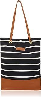 Kleio Large Spacious Printed Canvas Travel Shoulder Shopping Beach Bags Work Handbags For Women Girls