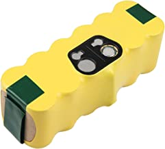Futurebatt 3500mAh Replacement Battery for iRobot Roomba R3 500 600 700 800 900 Series, 3.5Ah 14.4V Advanced Power System (APS) NiMH iRobot Battery