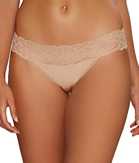 Calvin Klein Women's Seductive Comfort with Lace Thong