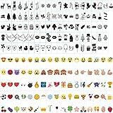 Cinema Signs,96 Stück Schwarze+85 Stück Farbe Emojis,Geburtstag,Jubiläum,...
