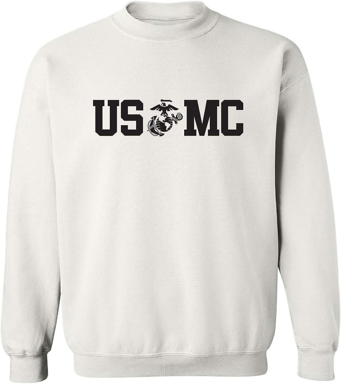 USMC Eagle Globe Anchor Crewneck Sweatshirt