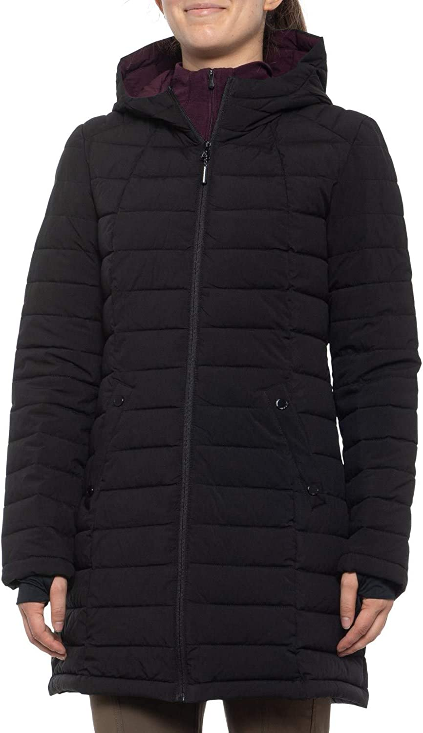 HFX Halifax Scuba Stretch Active Hooded Puffer Coat