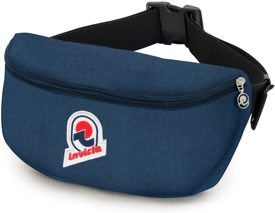 Invicta Waist Bag Japan's largest assortment 30 Solid Sale SALE% OFF Sport liters 4 Blu Pack cm Blue