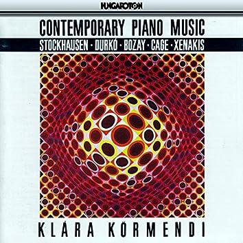 Stockhausen: Klavierstuck Ix / Cage: Sonatas and Interludes / Xenakis: Mists