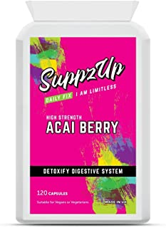 Suppzup 1000mg Acai Berry 120 Capsules120 Units