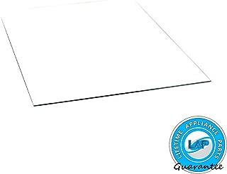 Lifetime Appliance 240350608 Crisper Glass Inset Cover Compatible with Frigidaire Refrigerator
