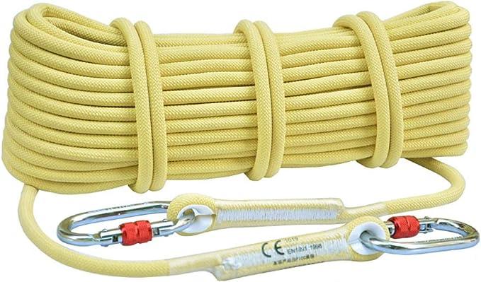 MAIDEHAO Cuerda de escalada de fibra de kevlar, 8 mm-12 ...