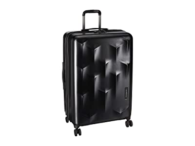 Hedgren 24 Carve MEX Expandable Spinner (Black) Luggage