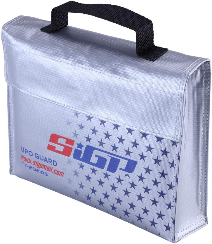 Inexpensive SIGP Lipo Fireproof Battery Safe Explosionproo Guard Storage Bag High quality