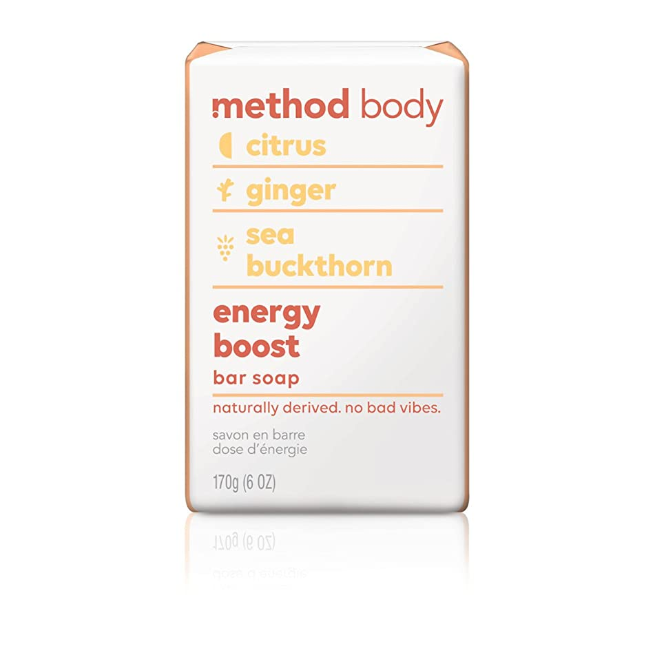 Method Experiential Bar Soap, Energy Boost, 4 Count