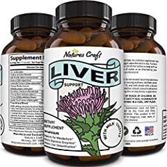 All-natural Effective supplements to promote strong functioning liver with milk thistle dandelion root artichoke beet root yarrow & chicory root all known for promoting healthy liver function