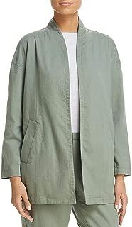 Eileen Fisher Womens Organic Cotton Lightweight Jacket