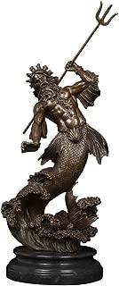 Best poseidon bronze statue Reviews