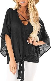Auimank t-Shirts for Women Plus Size,Womens Plus Size Solid Lace Sleeveless Tank Crop Tops Vest Cami Blouse T-Shirt