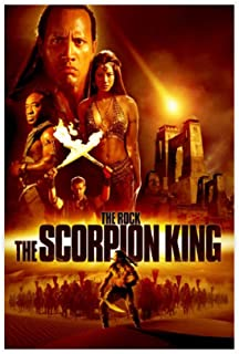 The Scorpion King Movie Poster Room Bedroom Living Room Wall Decoration 2 Canvas Poster Wall Art Decor Print Picture Paint...