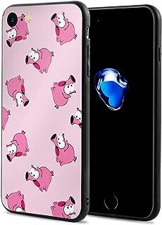 スマホケース おもしろい 豚柄 ブタ スマホカバー Iphone7 Iphone8 対応 すり傷防止 耐衝撃性