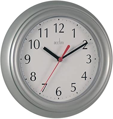 Acctim Wycombe Wall Clock, Grey