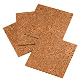 Quartet Cork Natural Frameless Tiles (12 x 12 Inch) - Pack of 4