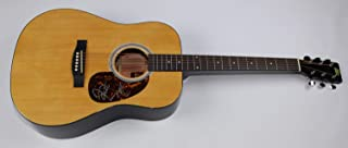 Tim McGraw Faith Hill It`s Your Love Beautiful Signed Autographed Full Size Wood Acoustic Guitar Loa