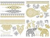 ZARINE- Metallic Tattoo Collection