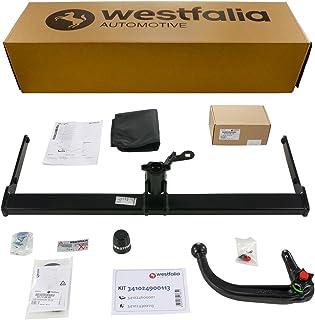 Abnehmbare Westfalia Anhängerkupplung für Vitara (BJ ab 03/15) / SX4 S Cross (BJ ab 09/13) im Set mit 13 poligem fahrzeugspezifischen Westfalia Elektrosatz