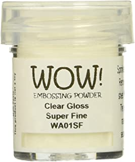 Wow Embossing Powder 15ml-Clear Gloss