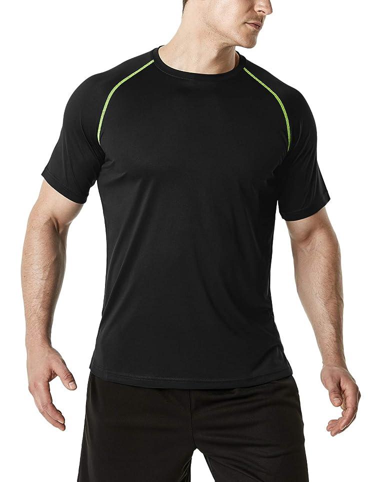 アスペクトゴミ箱優れた(テスラ)TESLA NEW! ハイパードライ ドライフィット 半袖 機能性 スポーツ Tシャツ [UVカット?吸汗速乾] MTS30?MTS40?MTS50