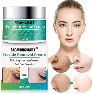 Freckle Cream,Dark Spot Corrector,Skin Lightening Cream,Freckle Remover,Bleaching Cream Freckle Removal Cream for Face and Body Hyperpigmentation Age Spot Freckles Melasma