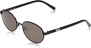 DVF Women's Oval Metal Sunglasses