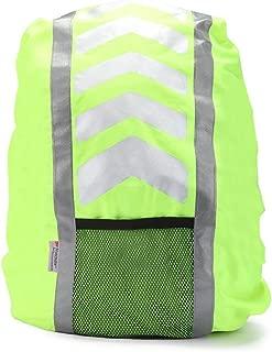AYKRM Reflective High Hi Viz Rucksack Backpack Cover Cycling Running Waterproof Bag