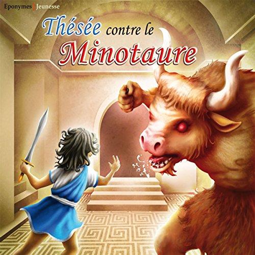 Couverture de Thésée contre le Minotaure