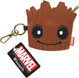 Loungefly Guardians Of The Galaxy Groot Face Coin Bag