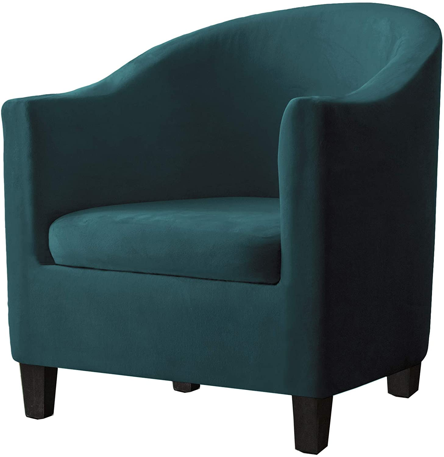 Cash special price Max 88% OFF SHENGYIJING 2 Piece Velvet Tub Spande Chair for Armchairs Covers
