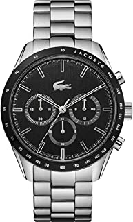 Lacoste Men's Analogue Quartz Watch with Stainless Steel Strap 2011079
